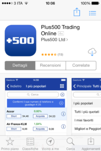 plus500 su app store