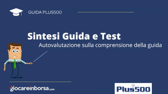 Test autovalutazione comprensione della guida