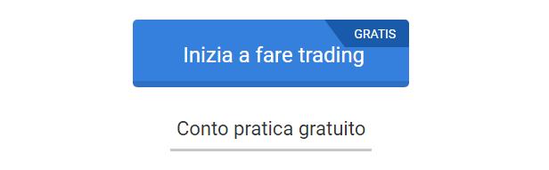Pulsante inizia a fare trading