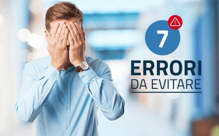 7 errori nel trading da evitare