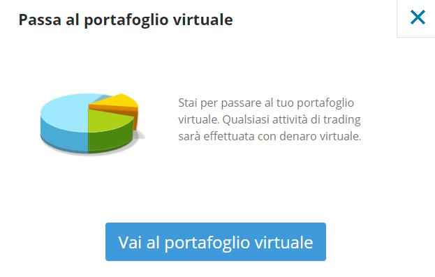 Portafoglio virtuale eToro