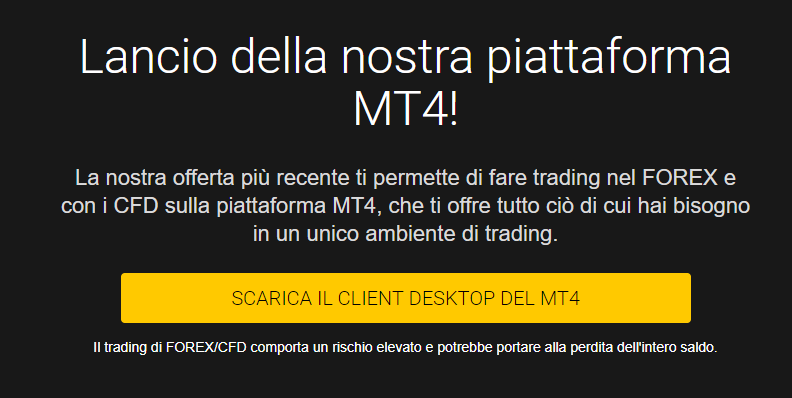 pulsante per il download di mt4 da 24option