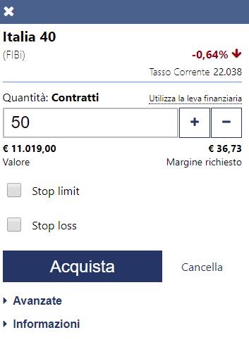 Come concludere un contratto di trading indici su Plus500