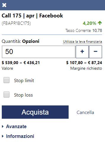 Come definire i dettagli della posizione di trading su Plus500