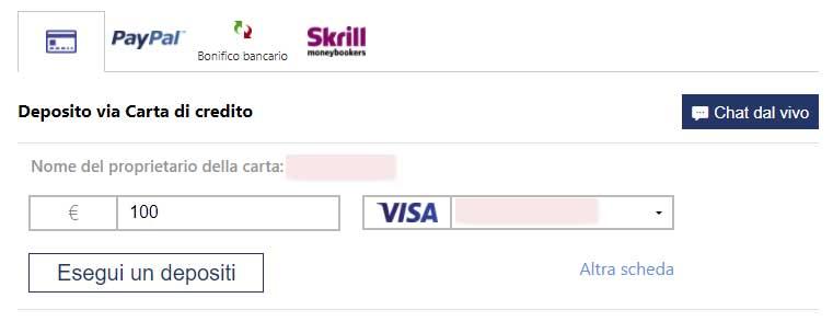 Come depositare su Plus500 con Postepay