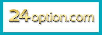 Logo di 24option, piattaforma di trading legale