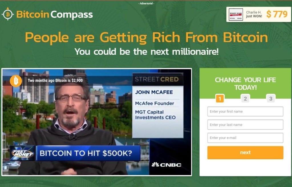 Sito di Bitcoin Trader