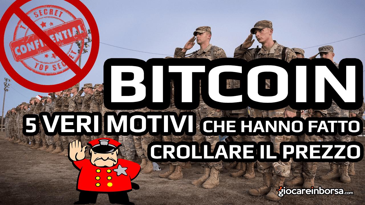 Previsioni Bitcoin 2019 e i 5 motivi che ne hanno causato il crollo