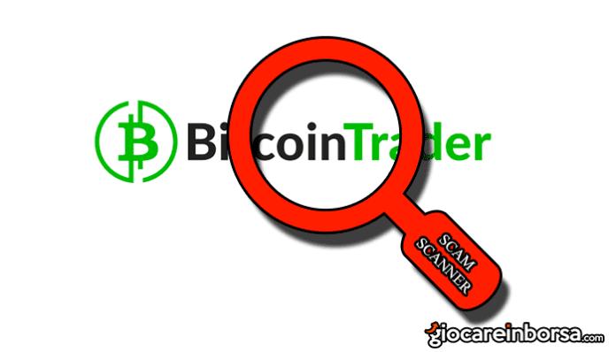Bitcoin Trader truffa o consente di guadagnare con bitcoin