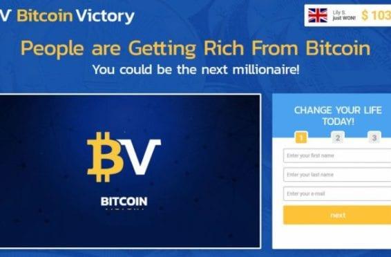 Come si presenta Bitcoin Victory