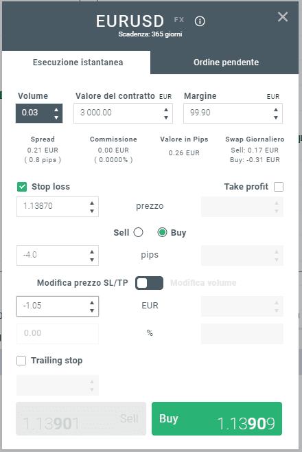 Come applicare lo stop loss sulla piattaforma di trading xtb