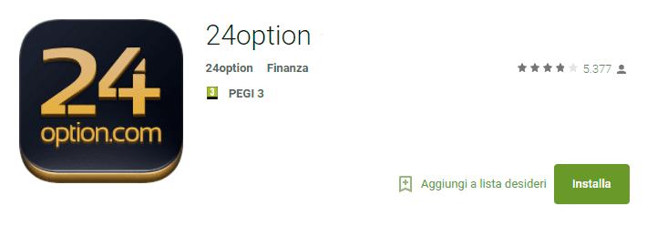 La app di trading 24option