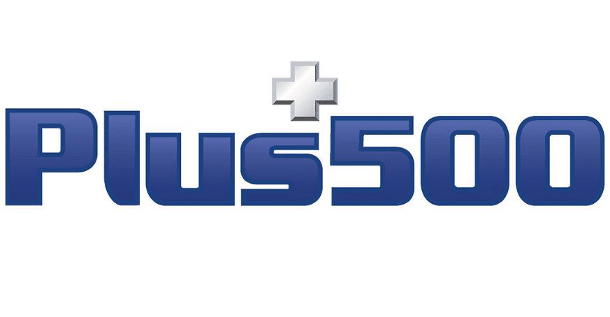 Il logo del Broker Plus500