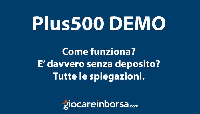 Plus 500 Demo