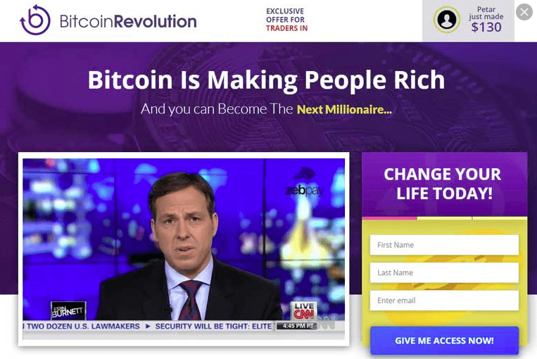 Bitcoin Revolution in inglese