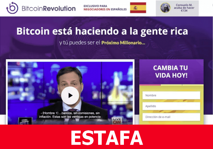 Bitcoin Revolution Spagna