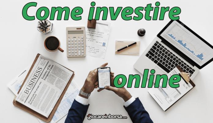 Come investire denaro online in modo sicuro e legale