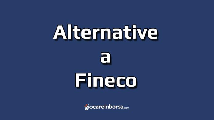 Le alternative a Fineco per il trading online commissioni