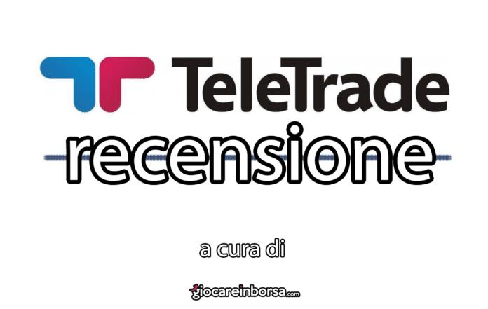Recensione di Teletrader, broker CFD e Forex per il trading online