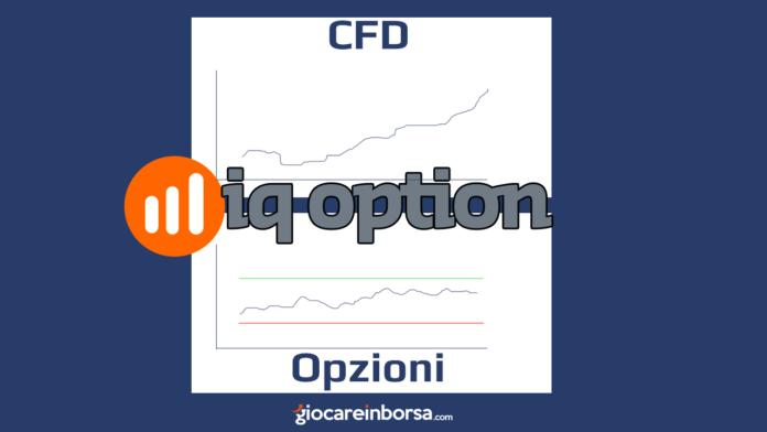Su IQ Option si può fare trading opzioni e CFD