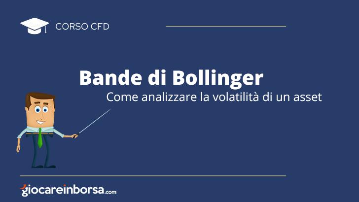 Bande di Bollinger, come analizzare la volatilità di un asset