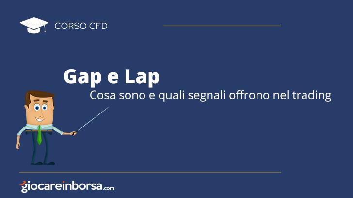 Gap e Lap, cosa sono e quali segnali offrono nel trading