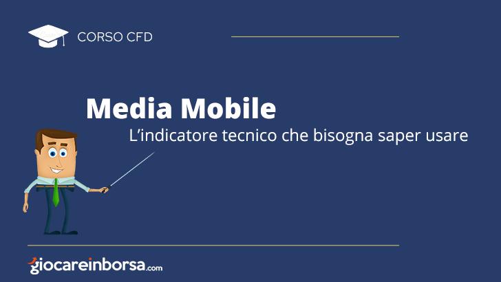 Media mobile, l'indicatore tecnico che bisogna saper usare
