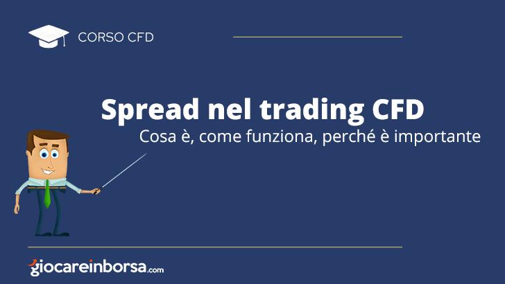 Spread nel trading CFD, cosa è, come funziona, perché è importante