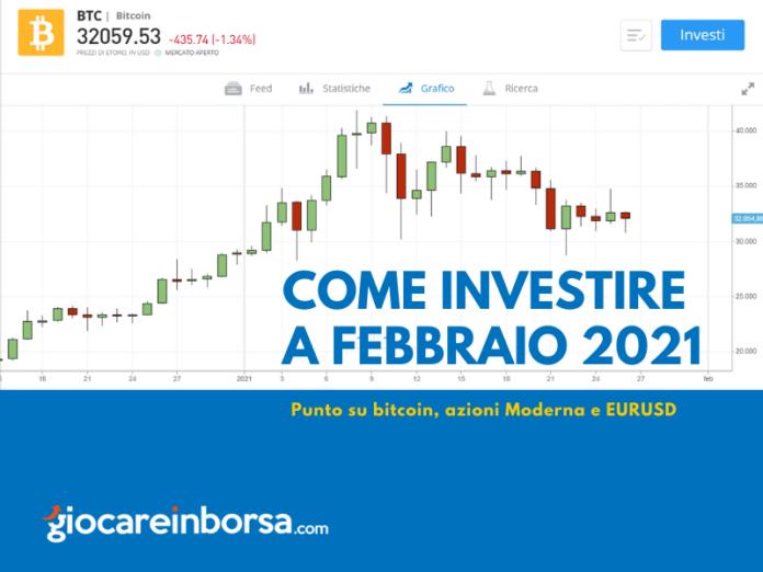 Come investire a febbraio 2021