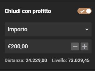Acquisto CFD bitcoin impostazione prezzo