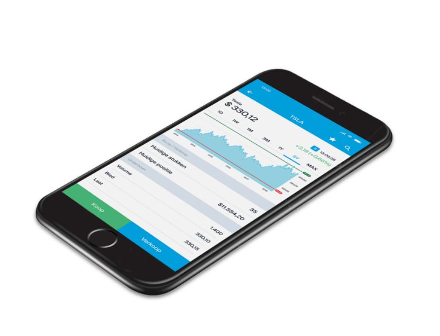App Degiro di trading