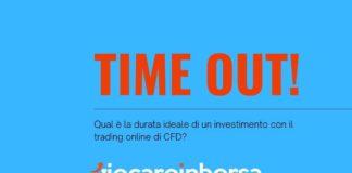 Qual è la durata ideale per un investimento con il trading online CFD?