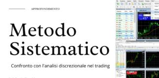 Cos'è il metodo sistematico nel trading e in cosa differisce dall'analisi discrezionale