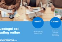 I guadagni nel trading online approfondimento