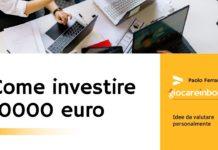 Come investire 10000 euro