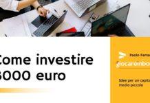 Come investire 3000 euro
