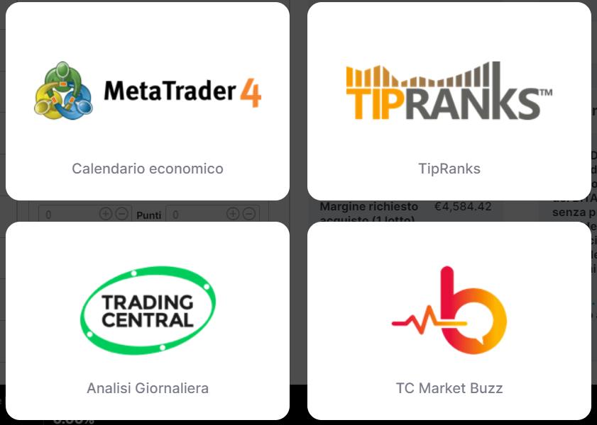 Strumenti di Liquidityx a disposizione degli utenti