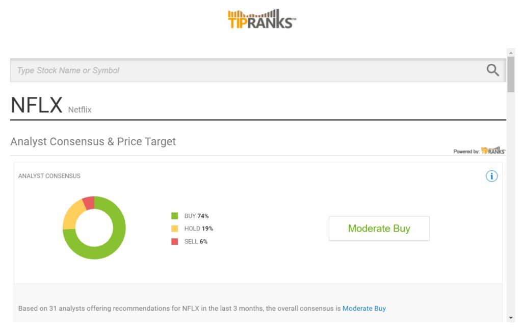 TipRanks offerta da Liquidityx